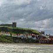 Over Looking Whitby Art Print