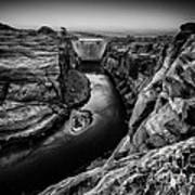 Over The Glen Canyon Dam Art Print