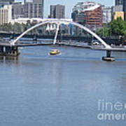 Over The Yarra Art Print