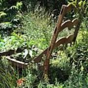 Overgrown Chair Art Print