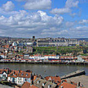 Overlooking Whitby Art Print