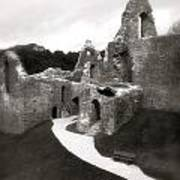 Oystermouth Castle Art Print