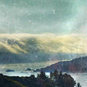 Pacific Ocean Fog Bank  Art Print