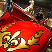 Packard Fire Engine  Art Print