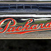 Packard Name Plate Art Print