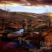 Packhorse Bridge Art Print