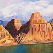 Padre Bay Lake Powell Art Print