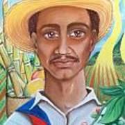 Padre Tierra Print by Xiomara Aleksic