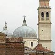 Padua Domes Padua Italy Art Print
