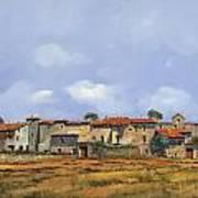Paesaggio Aperto Art Print by Guido Borelli