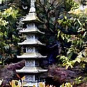 Pagoda Tower Of Zen Art Print