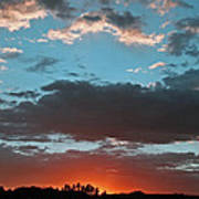 Pagosa Springs Colorado Sunset Art Print