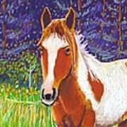Paintchip Art Print