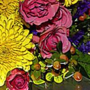 Painted Bouquet Art Print