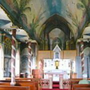 Painted Church Of Hawaii Art Print