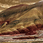 Painted Hills Grooves Art Print