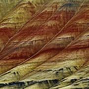 Painted Hills Lines Art Print