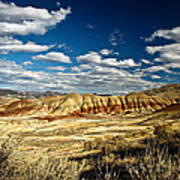 Painted Hills Oregon Art Print