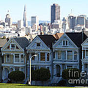 Painted Ladies Art Print by Linda Woods