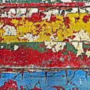 Painting Peeling Wall Art Print by Garry Gay