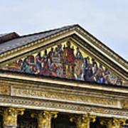 Palace Of Art - Heros Square - Budapest Art Print