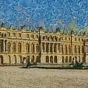 Palace Of Versailles Art Print