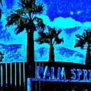 Palm Springs Gateway Two Art Print