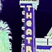 Palm Springs Nightlife Art Print
