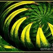 Palm Tree Abstract Art Print