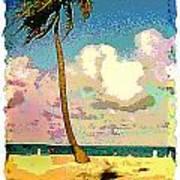 Palm Two Art Print