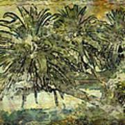 Palms Haiku Art Print