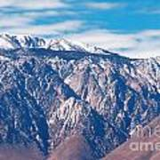 Panamint Mountain Range In Death Valley  Art Print