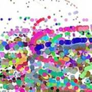 Pandemonium Of Colours Art Print