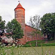 Panemunes Castle. Lithuania. Art Print