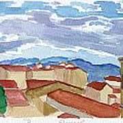 Panorama Florence Art Print