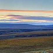 Panoramic At Sunset Along The Dempster Art Print