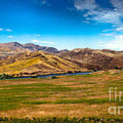 Panoramic Range Land Art Print