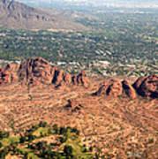 Papago Park Arizona Art Print