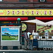 Papaya King Art Print