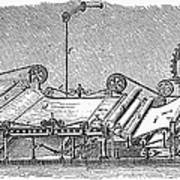 Paper Machine, C1880 Art Print