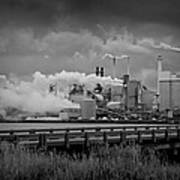 Paper Mill Art Print by Williams-Cairns Photography LLC