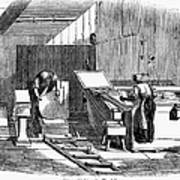 Papermaking, 1833 Art Print by Granger