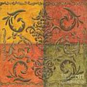 Paprika Scroll Art Print