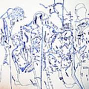 Parable Of The Ten Virgins Art Print