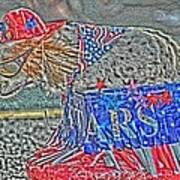 Parade Dog Art Print