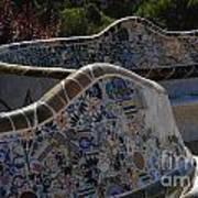 Parc Guell Barcelona Art Print