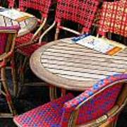 Paris Cafe Print by Tony Grider