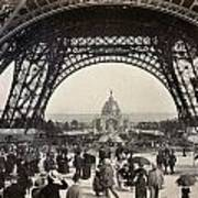 Paris Exposition, 1889 Art Print