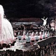 Paris: Fountains, 1889 Art Print