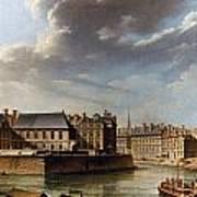 Paris: Ile Saint-louis Art Print